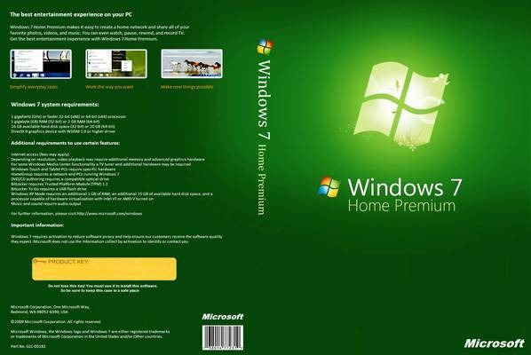 Windows 7 Home Premium Activation Key 32 BIT ISO