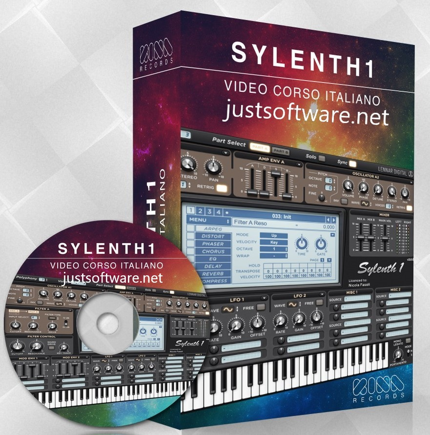 Sylenth1 3.055 Crack + License Keygen Full Free Download