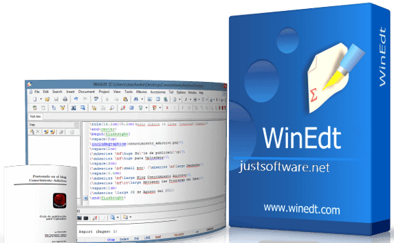 WinEdt 10.3 Crack + Registration Code Download 2018