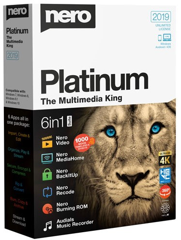 Nero 2019 Platinum 1.13.0.1 Crack + Serial Key Free Download