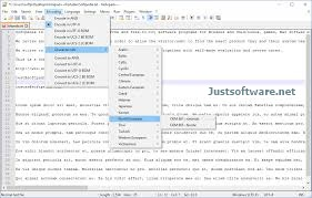 Download Notepad++ 7.6.3 + Crack for PC Windows
