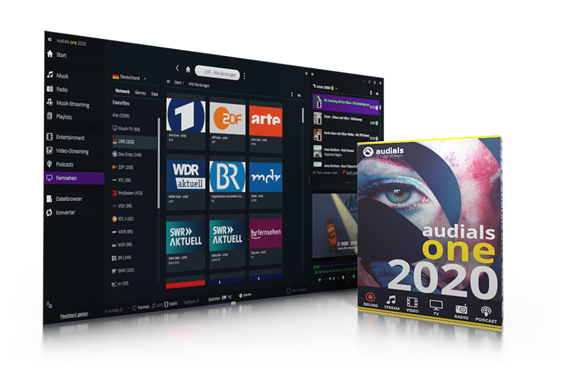 Audials One 2020.2.14.0 Crack + Full Version Download