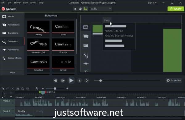 Camtasia 2020.0.7 Build 24015 Crack V9 + Serial Key With Keygen Free Download [Latest]