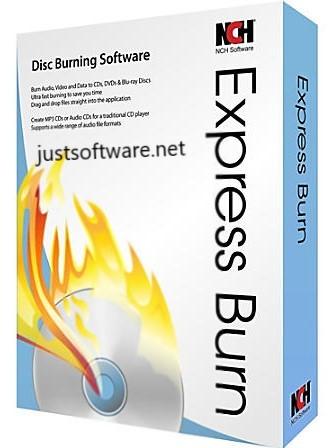 Express Burn 9.02 Crack + Activation Key Free 2020 Download