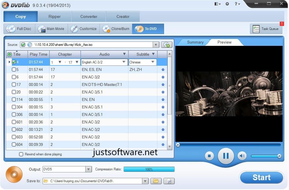 DVDFab 11.0.9.7 Crack + Platinum Serial Key Free Download