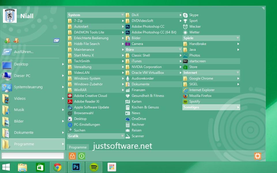 Start Menu X 6.75 Crack + Full Version Free Download 2020