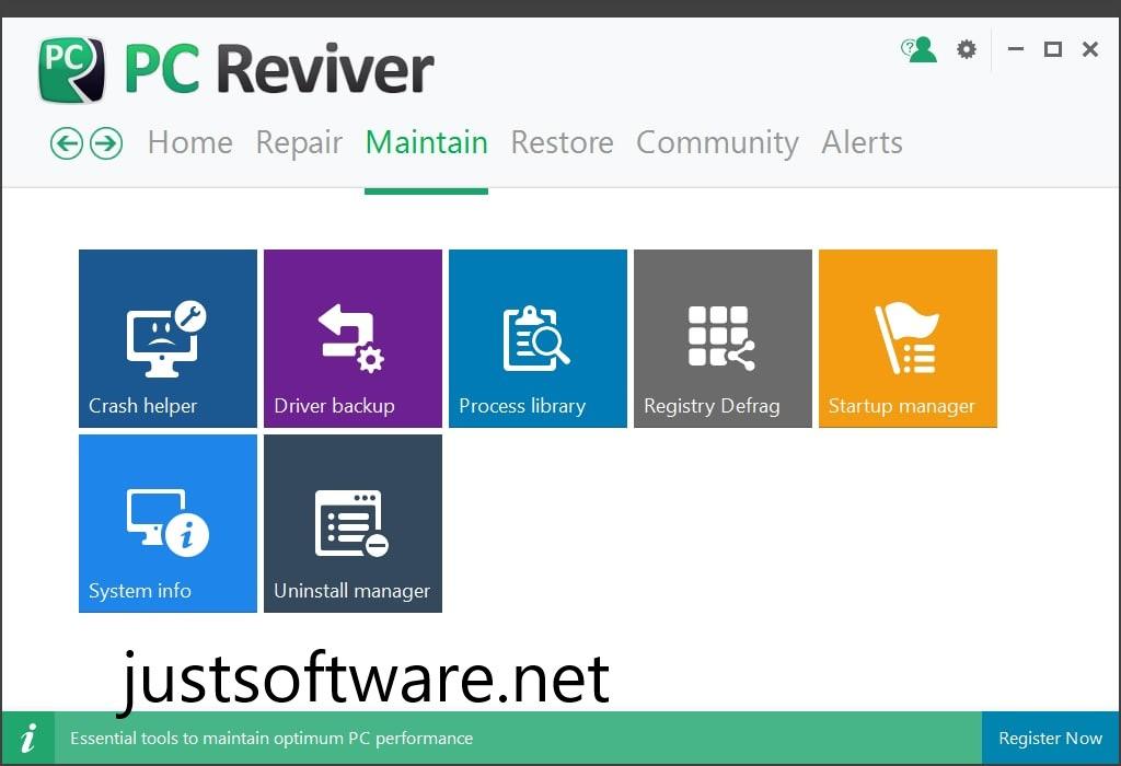 PC Reviver Crack 3.10.0.22 + License Key Free 2020 Download [Latest]