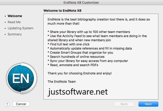 EndNote X9.3.3 Crack + License Key Free Download
