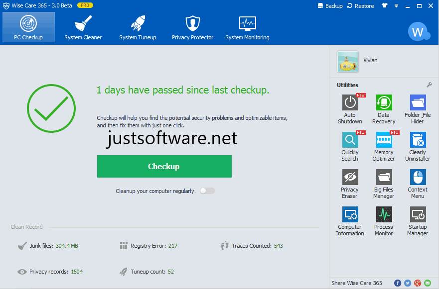 Wise Care 365 Pro 5.5.5 Crack + Serial Key Free Download 2020