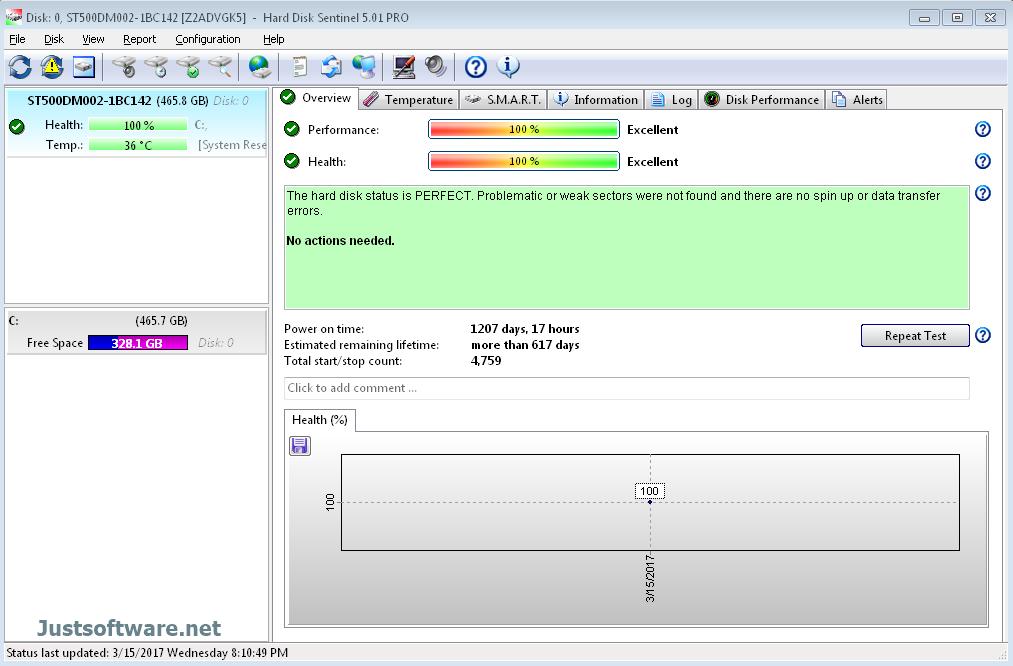 Hard Disk Sentinel Pro 5.30 Crack + Registration Key Download