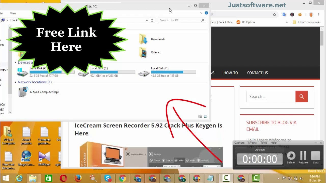 Icecream Screen Recorder 6.23 Crack + Activation Key Free Download